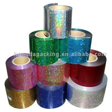 PET Spangle Films for Embroidery Industry