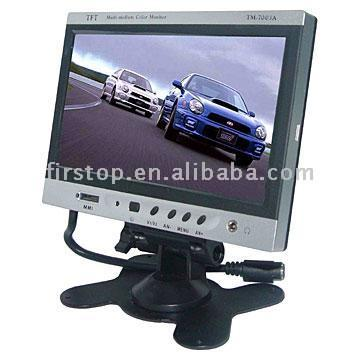 """7"""" Headrest Monitor with Game ( CM-7003)"""