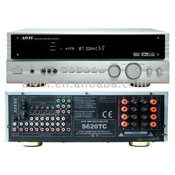 6.1-Inch DTS ES, Dolby EX, DTS Neo:6, Pro Logic II AV Receiver (S620TC) (6,1-Zoll DTS-ES, Dolby EX, DTS Neo: 6, Pro Logic II-AV-Receiver (S620TC))