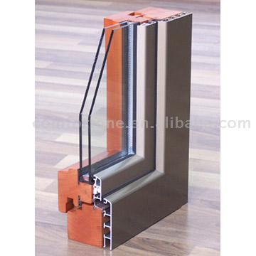 Wood-Aluminum Cladding Window Corner (Дерево-алюминиевые окна Оболочечные Corner)