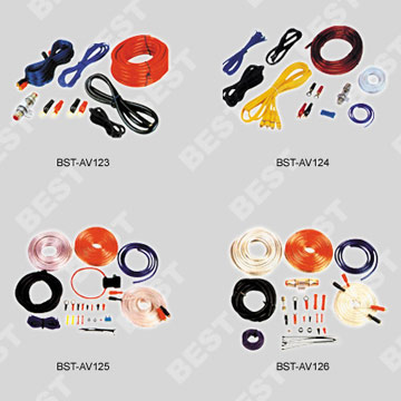 Car Amplifier Wiring Kits (Литые диски Электропроводка комплекты)