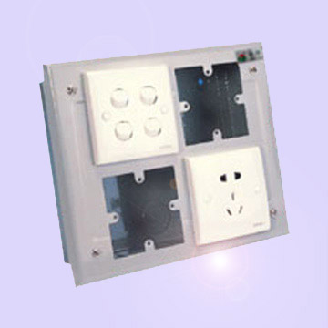 86 System Switch / Socket Box (86 système de commutation / Socket Box)