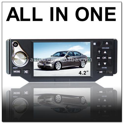 4.2 Inch Car DVD Player Build in TV Tuner USB/Card Reader Built in Amplifie (4,2 дюймов Car DVD Player Build тюнером USB / Card Reader Встроенная Amplifie)