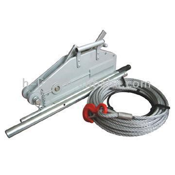 Wire Rope Pulling Machine