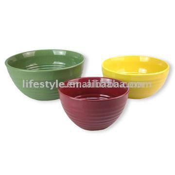 3pc Mixing Bowl Set