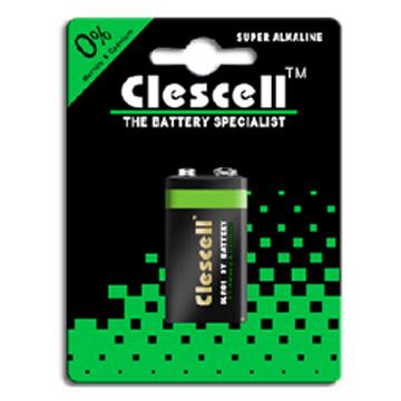 Alkaline Batteries (6LR61/9V) (Щелочные батарейки (6LR61/9V))