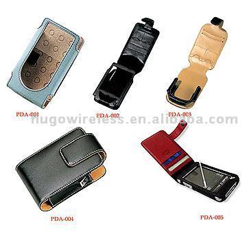Leather PDA Cases (Кожа футляры для КПК)