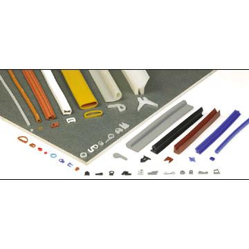 Silicone Rubber Sealing Strips And Tubes (Силиконовые резиновые уплотнительные полосы и трубы)