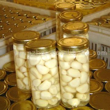 Peeled Garlic Cloves in Brine (Очищенные зубчики чеснока в рассоле)