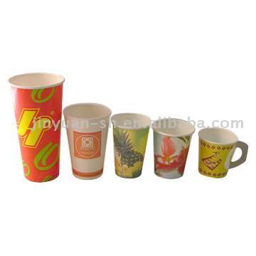 Paper Drink Cups (Бумажных стаканчиков Drink)