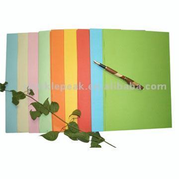 Whole Wood Pulp Colored Paper (Всего целлюлозном Цветная бумага)