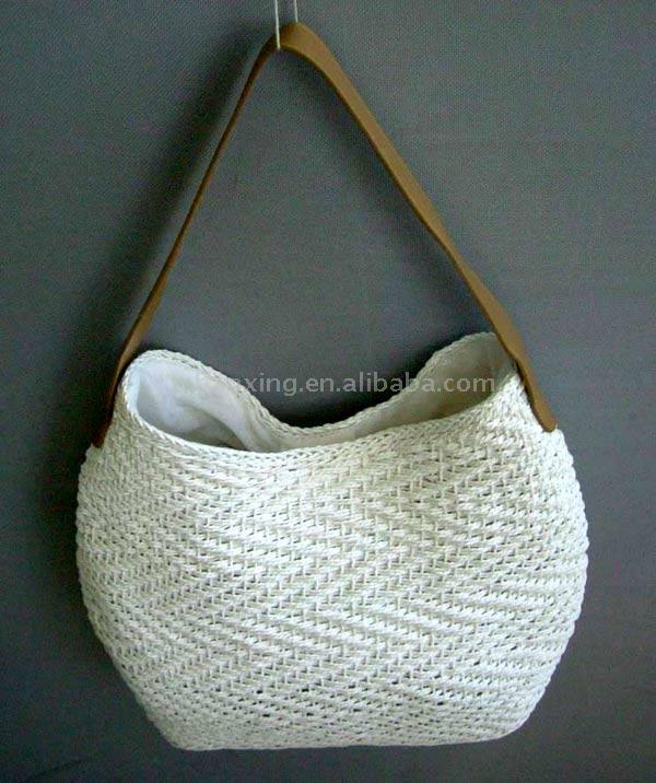сумки крючком схемы вязания из мешков для мусора.