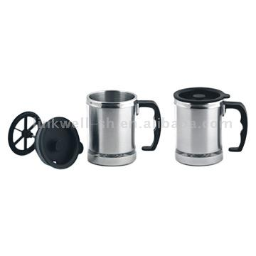 Mugs with Plunger (Кружки с Плунжер)