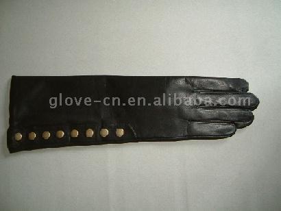 Ladies` Long Leather Glove (Женские перчатки кожа Long) .