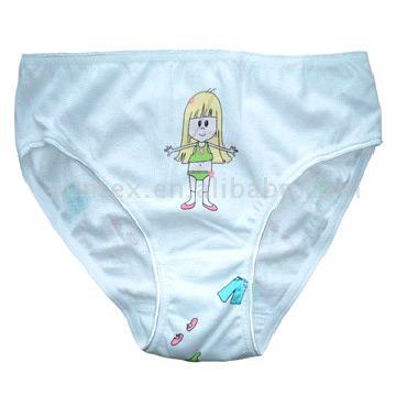 Girl`s Underwear