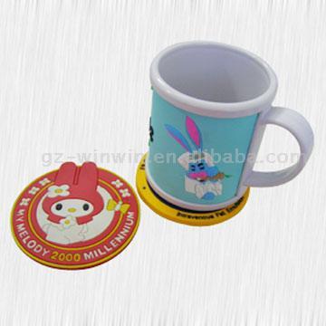Mug Cup and Pads (Кружка Кубок и колодки)