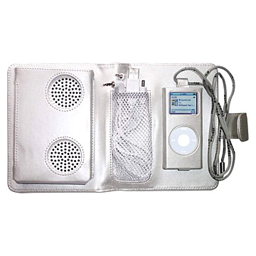 Carrying Cases and Mini Speaker Compatible for iPod (Футляры и мини спикера совместима с IPod)