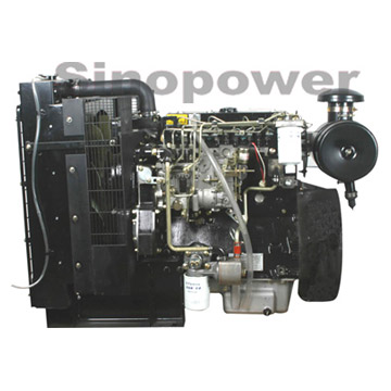 Multi-Cylinder Water-Cooled Diesel Engine