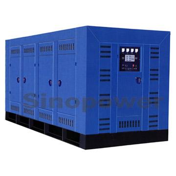 Three-Phase Low Noise Diesel Generator