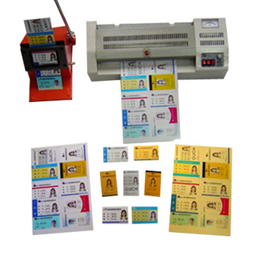 Inkjet Printing PET / PVC No-laminating Card Material