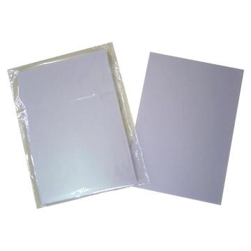 PVC Overlay For UV Print Card Sheet (Наложение ПВХ для УФ-печати листов карты)