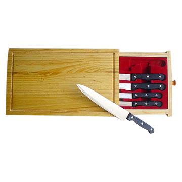 5pc Kitchen Knife Set (5pc кухни Набор ножей)