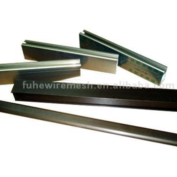 Electrophoretic Coated Aluminum Profiles (Электрофоретической покрытия алюминиевых профилей)
