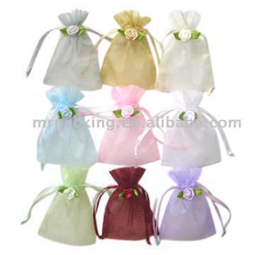 Rosette Organza Bags (Розетка органзы сумки) .