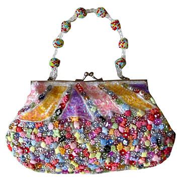 Beaded Handbag (Сумочка из бисера) .