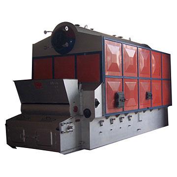 6MT Dual Cylinder Assembled Hose Steam Boiler (6MT двойного цилиндра Сборные шланга Паровой котел)