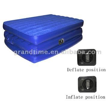 3-Layer Raised Air Bed with Built-In Pump (3-слойная Raised Air кровать со встроенным насосом)
