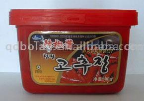 Chili Paste/Red Pepper Paste (Chili Paste / Вставить Красный перец)
