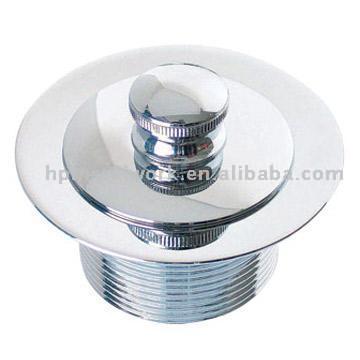 Chrome Plated Brass Basin Drain (Хромированная латунь опорожнении бассейна)