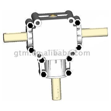 Row Rasenmäher Aluminium-Getriebegehäuse (Row Rasenmäher Aluminium-Getriebegehäuse)