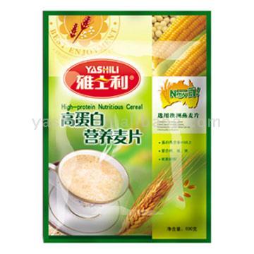 Hi-Protein Nutritious Oatmeal (Salut-Protein nutritif à l`avoine)