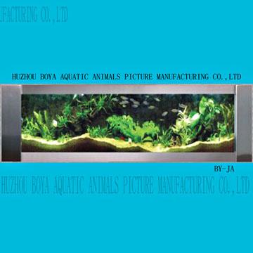 Wall Mounted Aquarium (Настенная аквариум)