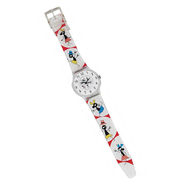 Analog Plastic Watch (Analog Plastic Watch)