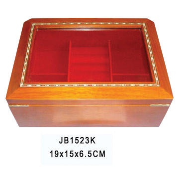 Wood Jewelry Box (Holz Schmuck-Box)