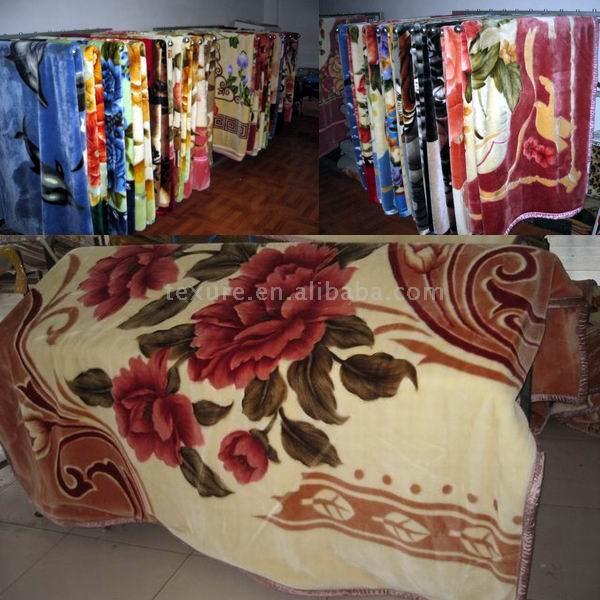 animal printed blanket vivid print blanket