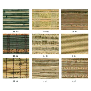 Handmade Bamboo and Wooden Blinds (Ручная бамбуковых и деревянных жалюзи)