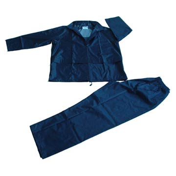 170T Polyester / PVC Rainwear (170T полиэстер / ПВХ дождевиков)