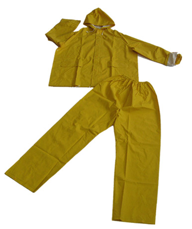 PVC / Polyester Rainsuit (ПВХ / полиэстер непромокаемый плащ)