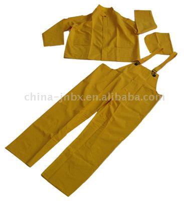PVC/Polyester Rainsuit (ПВХ / полиэстер непромокаемый плащ)