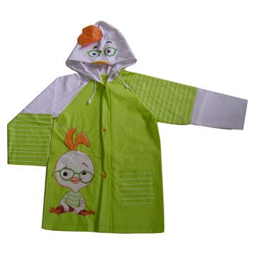 Children`s Printed Raincoat (Детский Печатный Плащ)