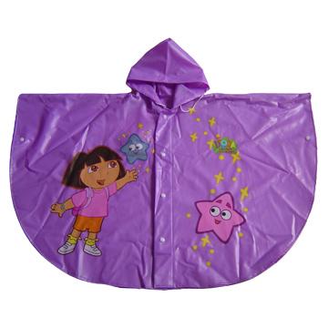 100% PVC Children`s Poncho (100% ПВХ Детское пончо)