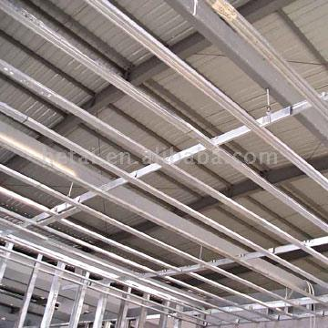 Galvanized Steel Ceiling Suspended and Drywall Partition
