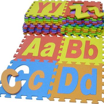 EVA Alphabet Mats