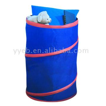 Kids` Pop-Up Laundry Hamper
