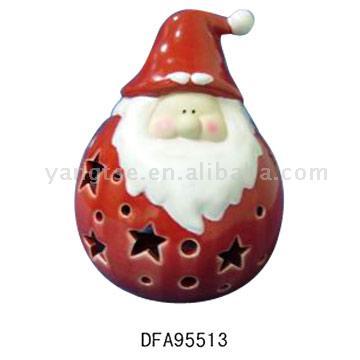Santa Candle Holder (Санта свеча Организатор)