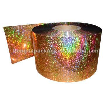 Sequin Spangle Film (PET and PVC)